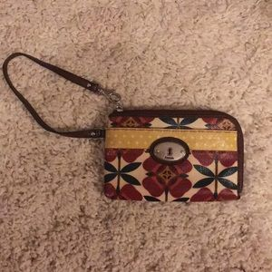 Like new fossil wristlet